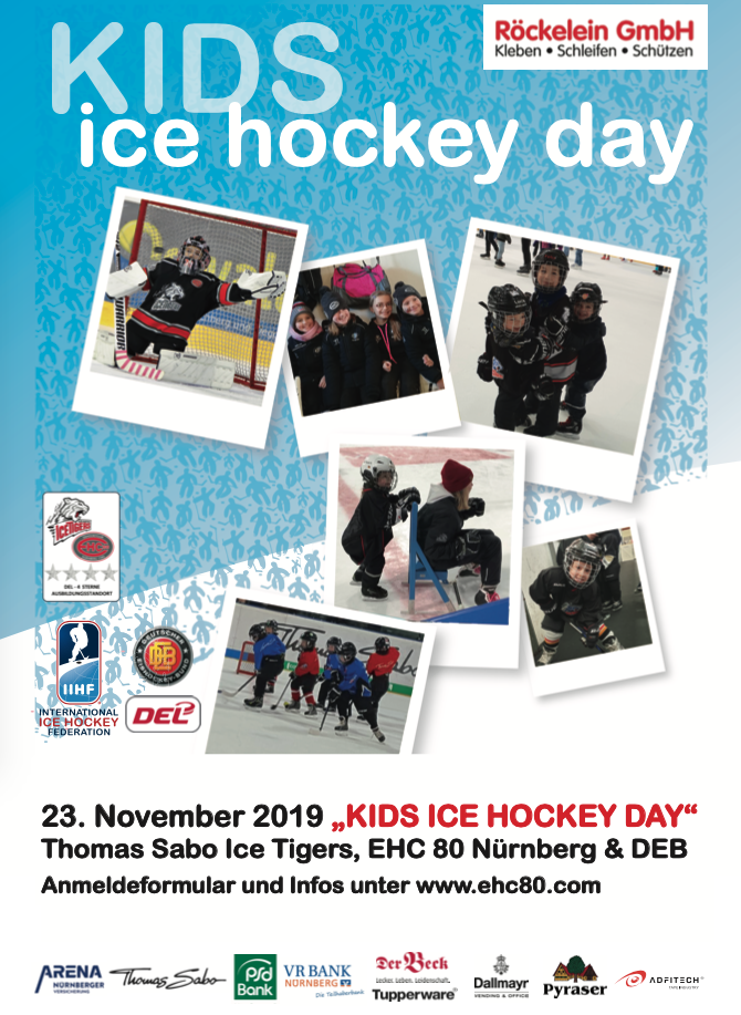 Kids Ice Hockey Day 2019 (23.11.2019) – EHC80 NÜRNBERG